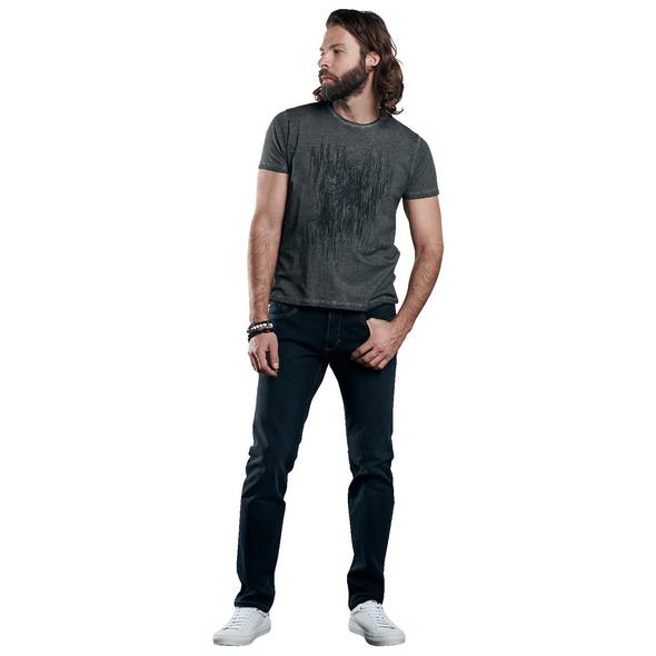 gesticktes T-Shirt