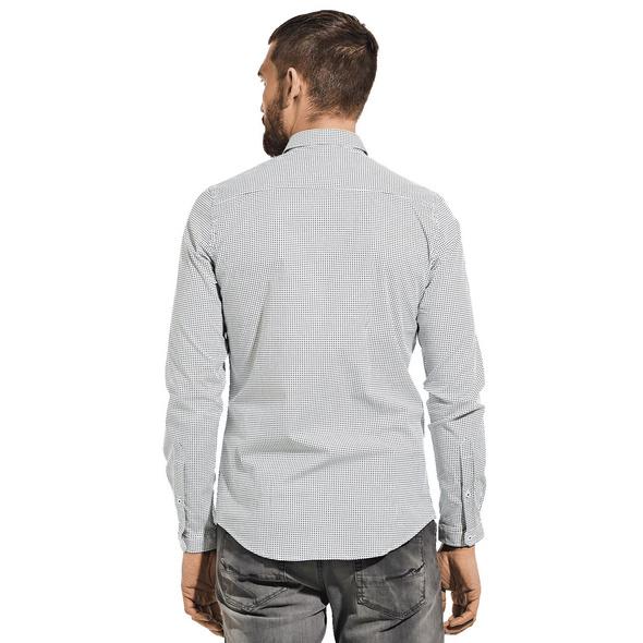 Modisches Langarmhemd mit Comfort-Stretch-Anteil