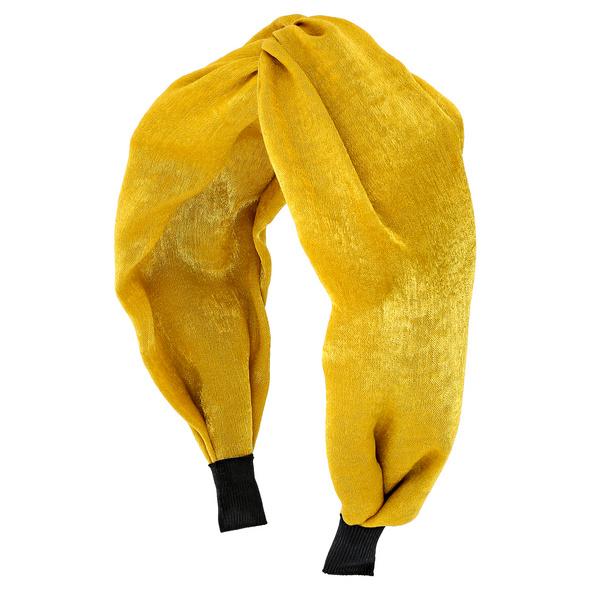 Haarreif - Yellow Satin