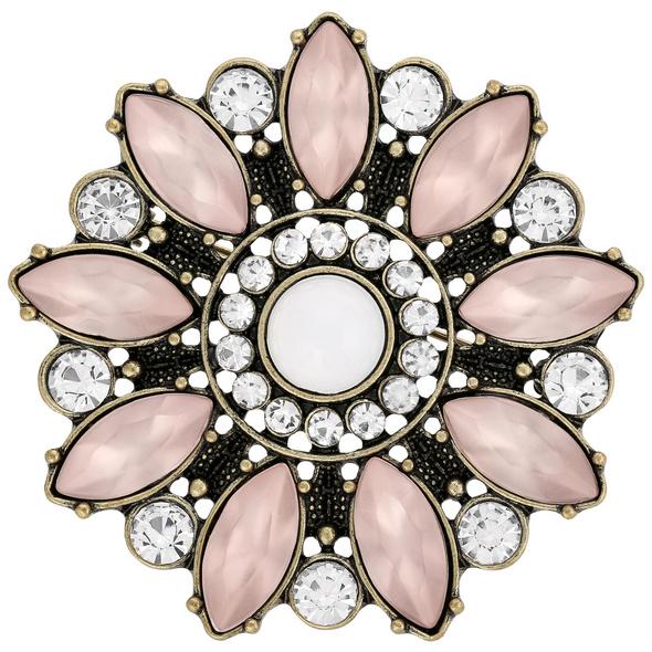 Brosche - Floral Glam