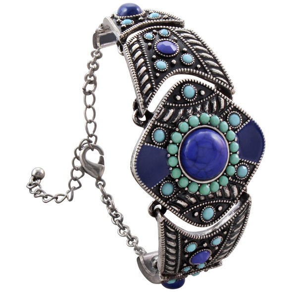 Armband - Blue Ethno