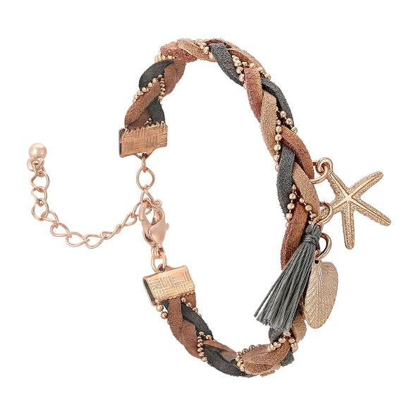 Armband - Rosé Braided