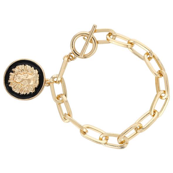 Armband - Lion Charm