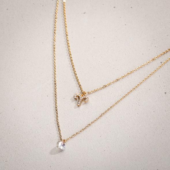 Layering-Kette - Golden Aries