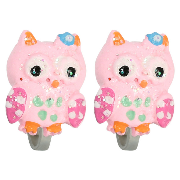 Ohrclips - Cute Owl