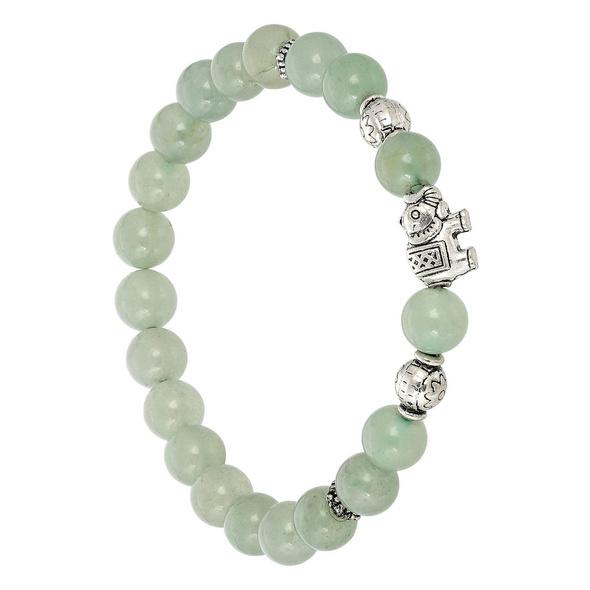 Armband - Green Beads