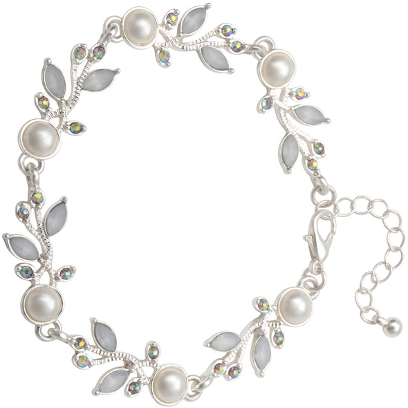 Armband - Perle / Blüte
