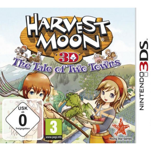 dtp Entertainment AG Harvest Moon: Tale of Two Towns