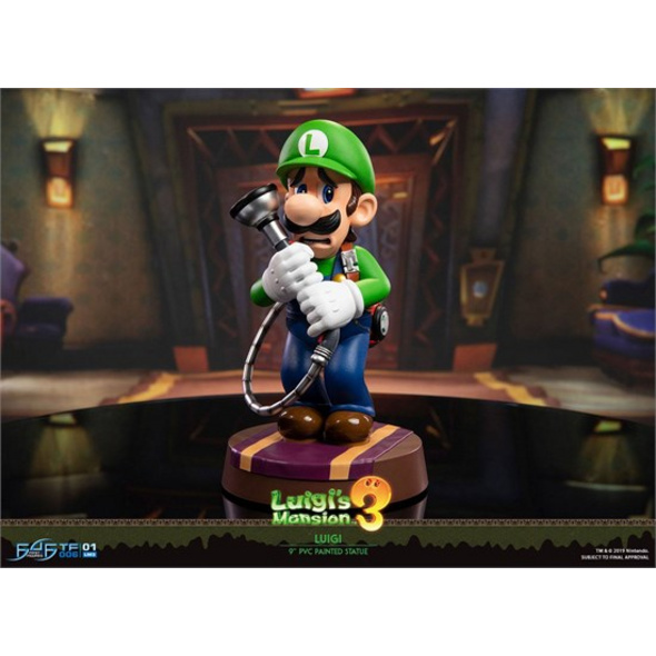 Super Mario - Figur Luigi's Mansion 3 Statue