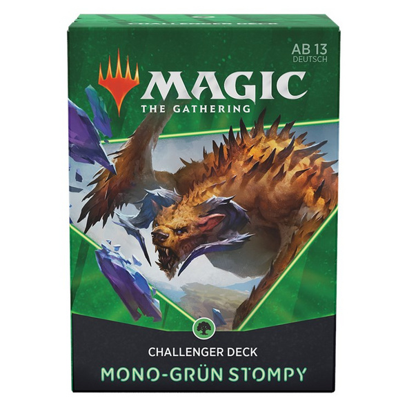 Magic the Gathering: Challenger Deck 2021 Mono-Grün-Stompy