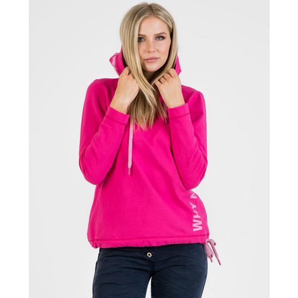 Sportliches Sweatshirt mit Foliendruck