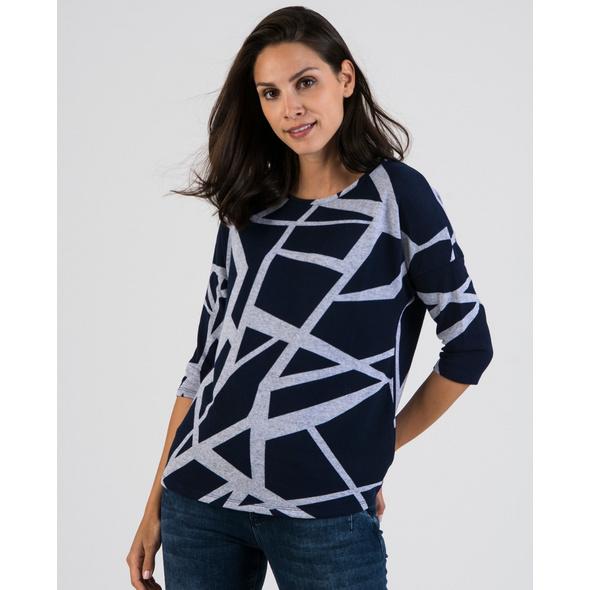Sweatshirt mit grafischem Druck