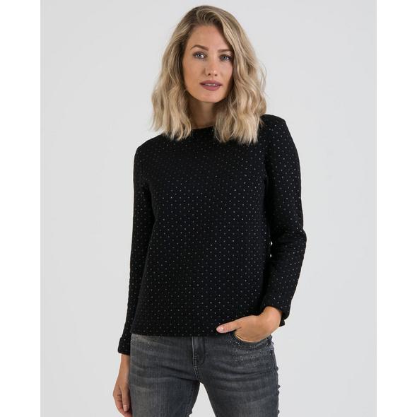 Sweatshirt mit Glitzerdetails