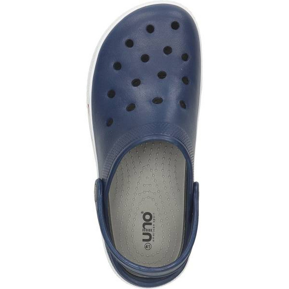 Clog in dunkelblau von Uno