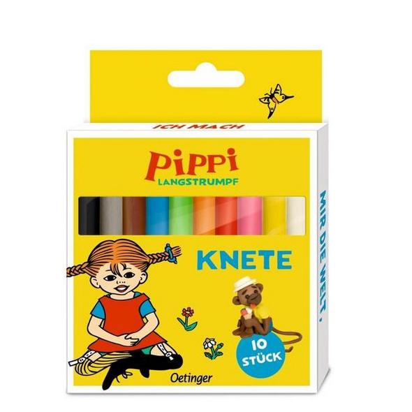 Pippi Langstrumpf Knete