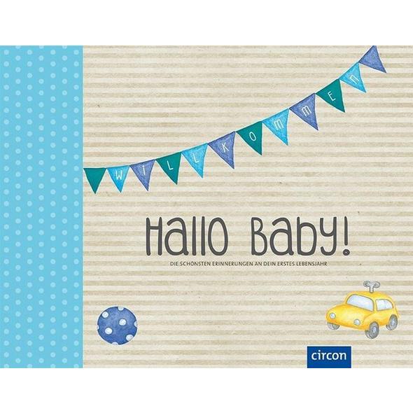 Hallo Baby! Babyalbum (Jungen)