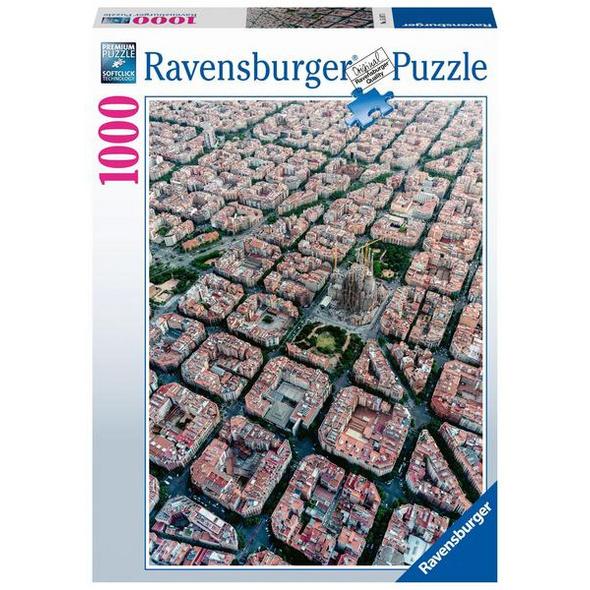 Ravensburger 15187  - Barcelona von Oben, Puzzle,