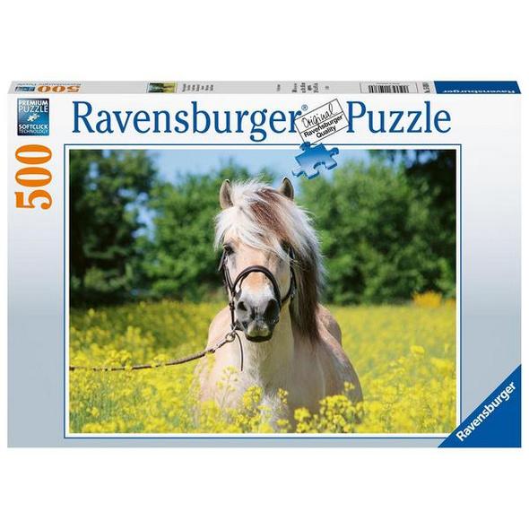 Ravensburger 15038 - Pferd im Rapsfeld, Puzzle,
