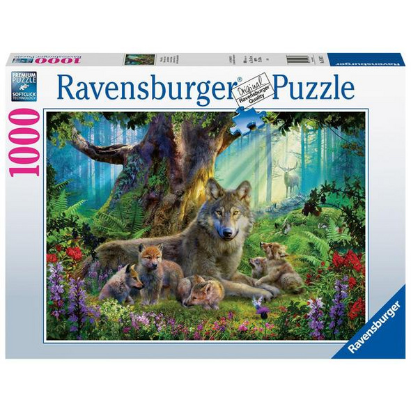 Ravensburger 15987 - Wölfe im Wald, Puzzle,