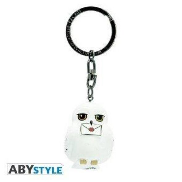 ABYstyle - Harry Potter - Hedwig 3D-Schlüsselanhänger