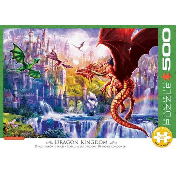 Eurographics 6500-5362 - Drachenkönigreich, Puzzle
