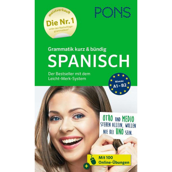 PONS Grammatik kurz & bündig Spanisch