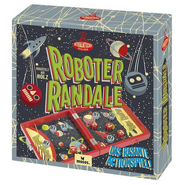 Prof Puzzle Roboter Randale