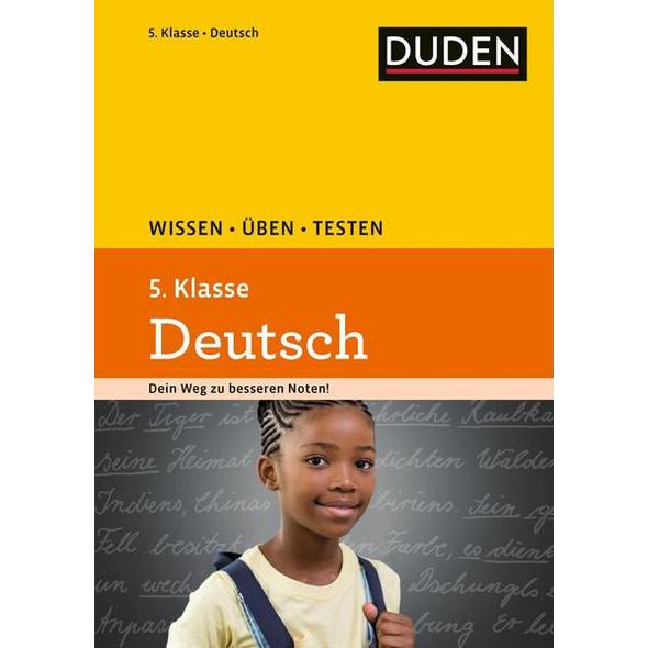 Wissen – Üben – Testen: Deutsch 5. Klasse