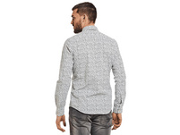 Modisches Langarmhemd mit Fancy-Allover-Print