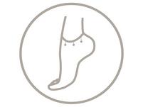 Fußkettchen - Silver Shell