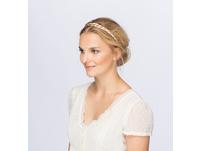 Haarteil - Blond geflochten