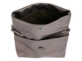 Tasche - Metallic Grau