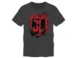 Justice League - T-Shirt Logo (Größe L)