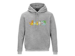 Pokémon - Hoodie Grau (Größe L)