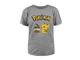 Pokémon - T-Shirt Evoli & Pikachu (Größe L)
