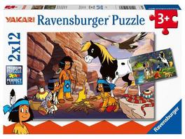 Ravensburger 05069 - Yakari, Unterwegs mit Yakari, Puzzle,