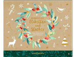 Stickerbuch - Weihnachtliche Etiketten und Sticker