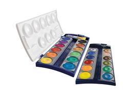 Pelikan Deckfarbkasten K24, 24 Farben und 1 Tube Deckweiß